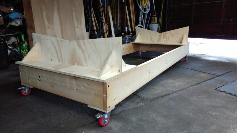 Boat Cradle and Stands