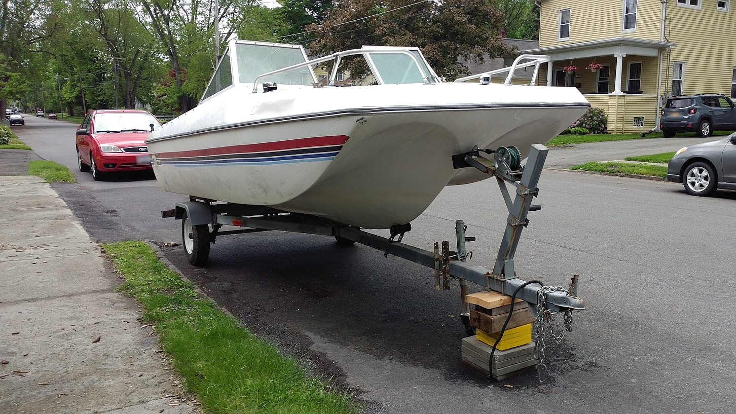 Boat Trailer and Other Assorted Bits