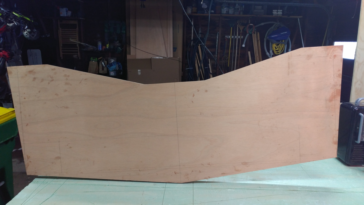 Laminated Plywood Transom