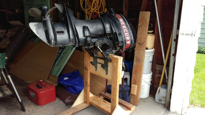 Mercury 50HP Outboard Stand