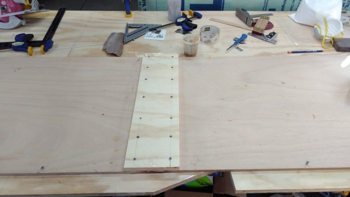Scarfing Plywood with a Hand Plane
