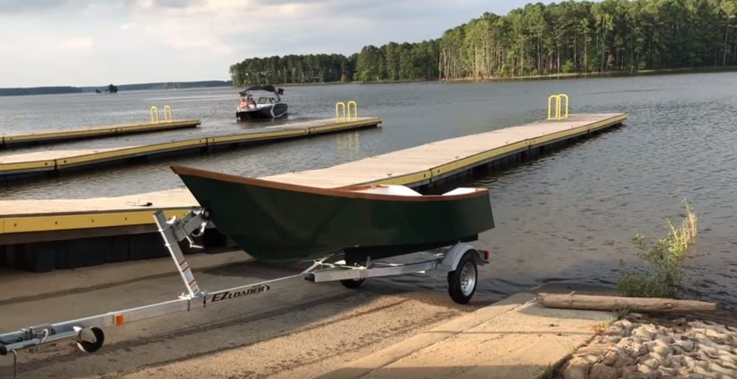 Tango Skiff Boat First Test