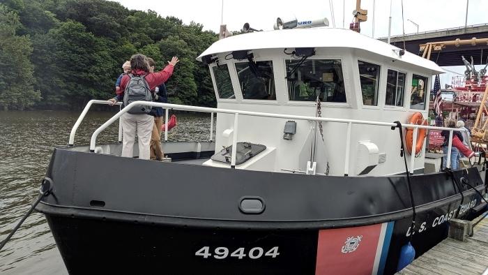 USCG BUSL Hudson Maritime Museum