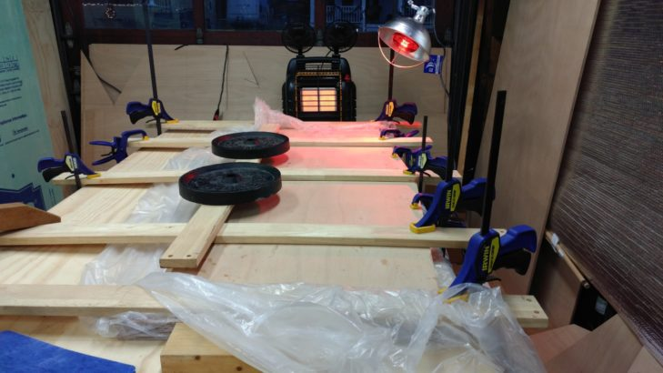 Gluing the Transom
